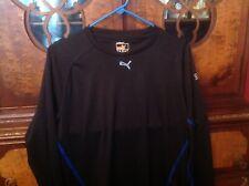 Puma Sports Lifestyle shirt Size Large Black