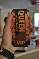 Adam Lambert Queen Tour Concert Vip reflective pass - Htf