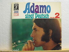 ★★ LP - ADAMO - Singt Deutsch - Folge 2 - Klapp-Cover - EMI 062 23251 OIS