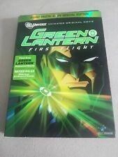 Green Lantern First Flight Two Disc Special Edition First Ever GL Animated Movie