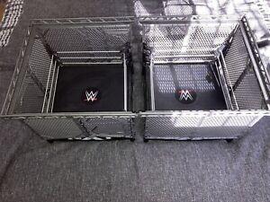 WWE/WWF Wrekkin' NXT TakeOver War Games Wrestling Rings & Cage