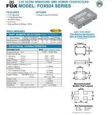 Quarz Quartz - Oszillator 24.576MHz 5 x 3.2mm SMD ... 4x