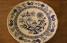 Speiseteller Hutschenreuther Blau Zwiebelmuster Teller 25 cm