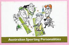 AUSTRALIA 1981  Presentation Stamp Pack AUSTRALIAN SPORTING PERSONALITIES - MNH