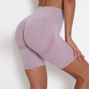 Sports Shorts Women Hip Push Up Short Leggings High Waist Yoga Fitness Shorts