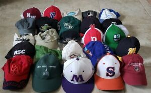 Lot of 25 Trucker Hat Cap Strapback Hunting Golf The Game Florida State