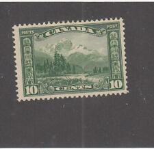 CANADA (MK6966) # 155 VF-MLH 10cts 1928 MOUNT HURD, BC. /GREEN-#3  CAT VALUE $30