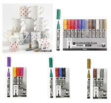 Porzellanstifte, Glass & Porzellan Marker, 1-2 mm Spitze, spülmaschinengeeignet