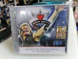 JON BON JOVI - The Best Of LIVE Selection 1986-1995  CD RARE Nuovo SIGILLATO