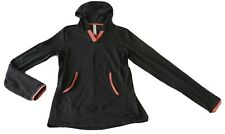 Ladies  size 12 Circuit Charcoal active wear sports hooded top