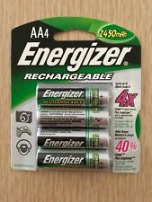 24x Energizer AA 2450 mAh Rechargeable Batteries