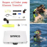 Air Spare Oxygen Pump Tank Diving Equipment Mini Case Set Scuba Breath Cylinder