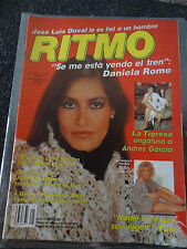 RITMO revista Magazine Mexico Daniela Romo 1984 yuri 80s