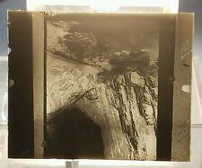 Vintage GLASS NEGATIVE SLIDE Colorado Mountain Scenery Scene Picture
