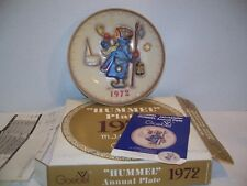 Hummel 1972 annual plate - Hear Ye, Hear Ye! in Original Box