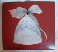 2005 Annual Christmas Lladro Bell ~Must See~ *Brand New* ~Free Shipping~