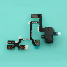 Headset Audio Jack Power Volume Button Key Flex Ribbon F Apple iPhone 4 4G Black