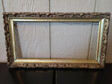 New ListingVintage Mcm Gilded Gilt Gold Wood Picture Artwork Frame