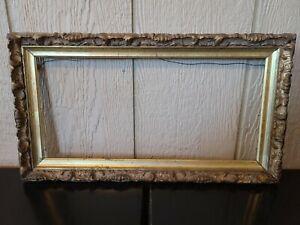 Vintage MCM Gilded Gilt Gold Wood Picture Artwork Frame