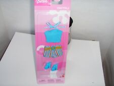Barbie Doll Clothes  Set One summer top, one short, one pair of shoes