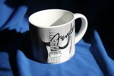 Fender Airbrush Strat Coffee Mug, Black, 14 Ounce Capacity, MPN 9124777000