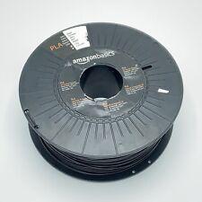 Amazon Basics PLA 3D Printer Filament 1.75mm Black 1 kg Spool