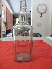 Quart Jack Daniels Sour Mash Whiskey Rare 1895 Vintage Bottle Belle of Lincoln