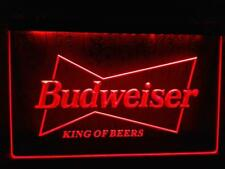 Budweiser King Beer Bar Pub Cafe Shop LED Neon Light Sign Advertise Decor Home