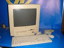PC vintage MAC MACINTOSH modelo PERFORMA 5200 con drivers e instrucciones