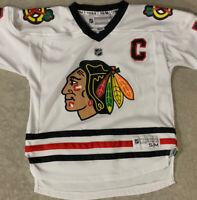 Chicago Blackhawks NHL Jersey Jonathan Toews Youth Kids Size S/M