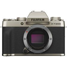 Fujifilm X-T200 Numérique sans Miroir Corps Appareil Photo - Champagne Doré