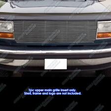 Fits 1992-1996 Ford Bronco/F150/F250/F350 Black High Density Billet Grille