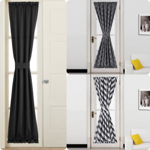 """NEW 1PC French Door Curtain Solid/Printed Window Curtain Panel DAYSI 55""""W X 72""""L"""
