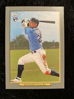 2020 TOPPS UPDATE YOSHI TSUTSUGO TAMPA BAY RAYS TURKEY RED ROOKIE CARD RC TR-24