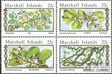 Marshall-Islands 67-70 block of four unmounted mint / never hinged 1985 Medicina