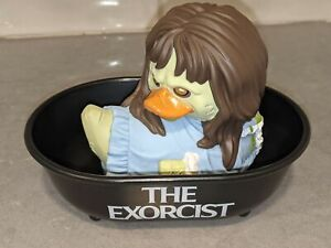 THE EXORCIST Rubber Duck Horror Movie Cosplaying Duckie Tubbz Regan in Tub #2