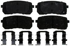 Disc Brake Pad Set-Ceramic Disc Brake Pad Rear ACDelco Advantage 14D1302CH