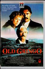 """VHS - """" Old GRINGO """" (1989) - Jane Fonda - Gregory Peck - Jimmy Smits"""