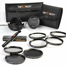 77mm ND 2 4 8 Close up +1 +2 +4 +10 Lens Filter For Canon EF-S 10-22mm f/3.5-4.5