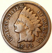 1893 RPD Indian Head Cent, Bronze,  LIBERTY.  L@@K!!!