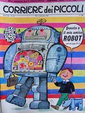 Corriere dei Piccoli n°45 1967 con inserto Enciclopedia e Figurine  [G.254A]