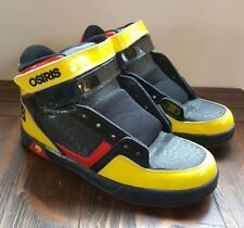 NEW Osiris Black Yellow Red NYC83 - Size Mens 6.5 Skate Shoes Skateboarding