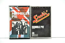 2 Humble Pie Cassette Tapes Smokin & Best of British Rock Hard Rock Thrash Lot