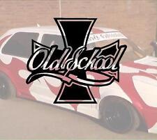 Old School Iron Cross nr3  Aufkleber Sticker Race Raser Fun JDM OEM DUB Like