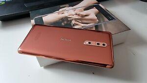 Nokia 8 4gb RAM 64gb Polished Copper Read Description