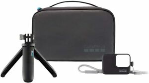 GOPRO Travel Kit - Shorty (Mini Ext Pole/Tripod), Sleeve + Lanyard, Compact Case