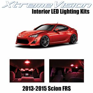 XtremeVision Interior LED for Scion FR-S FRS 2013-2015 (10 PCS) Red
