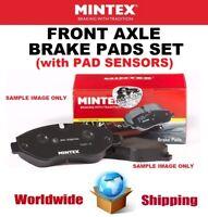 MINTEX Front BRAKE PADS + SENSORS for BMW 2 Active Tourer (F45) 214d 2015-2018