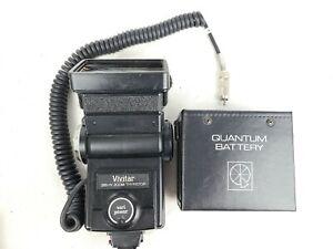Vivitar 285HV Flash Manual Auto Thyristor with Quantum Battery