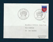 FRd enveloppe Fleurs  fete du muguet  92  Chaville  1967
